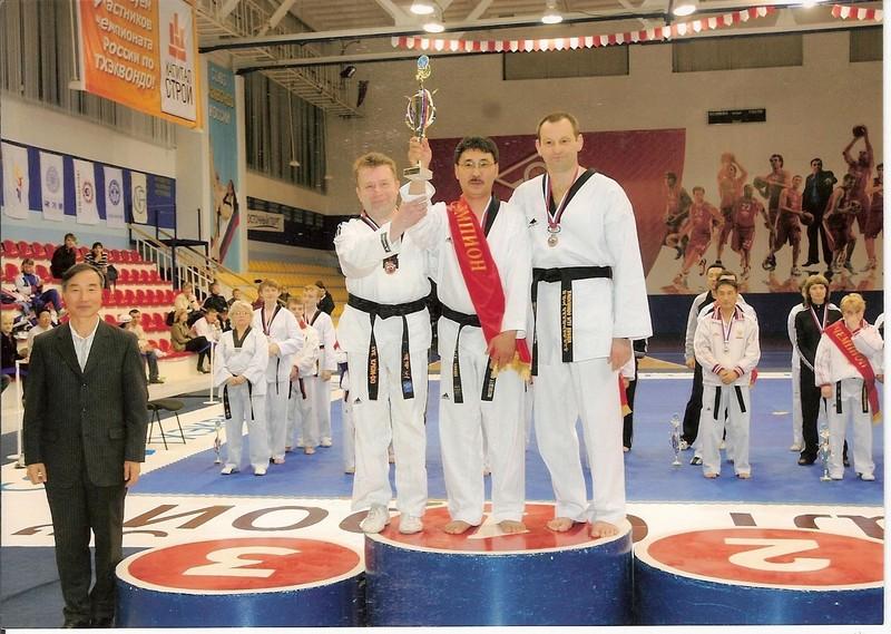 Мин Т.Ч. - победитель чемпионата России по пхумсэ в возрастной группе мастеров